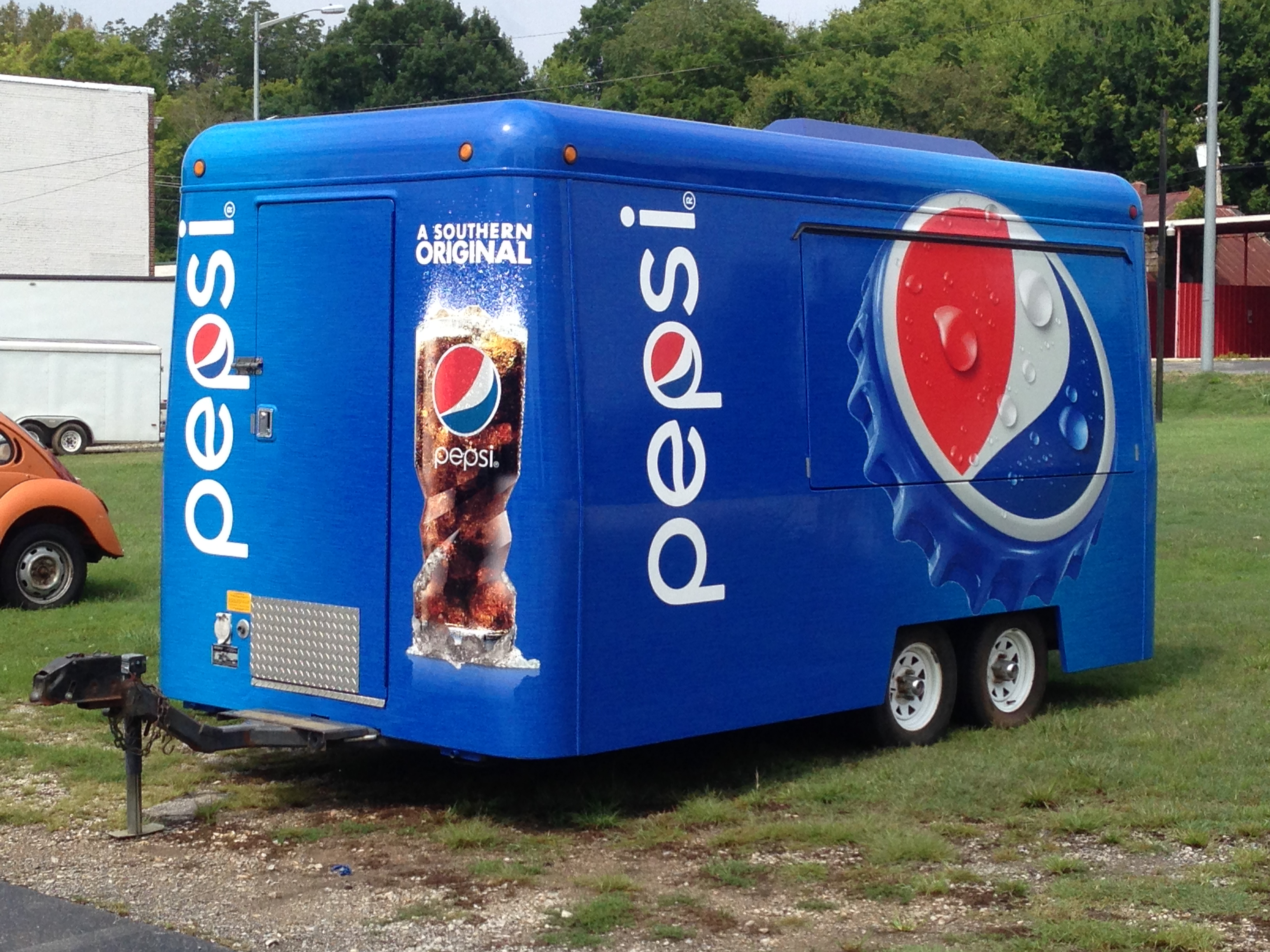 Vending Trailer Wrap
