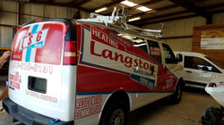 Heating and Air Business Wrap