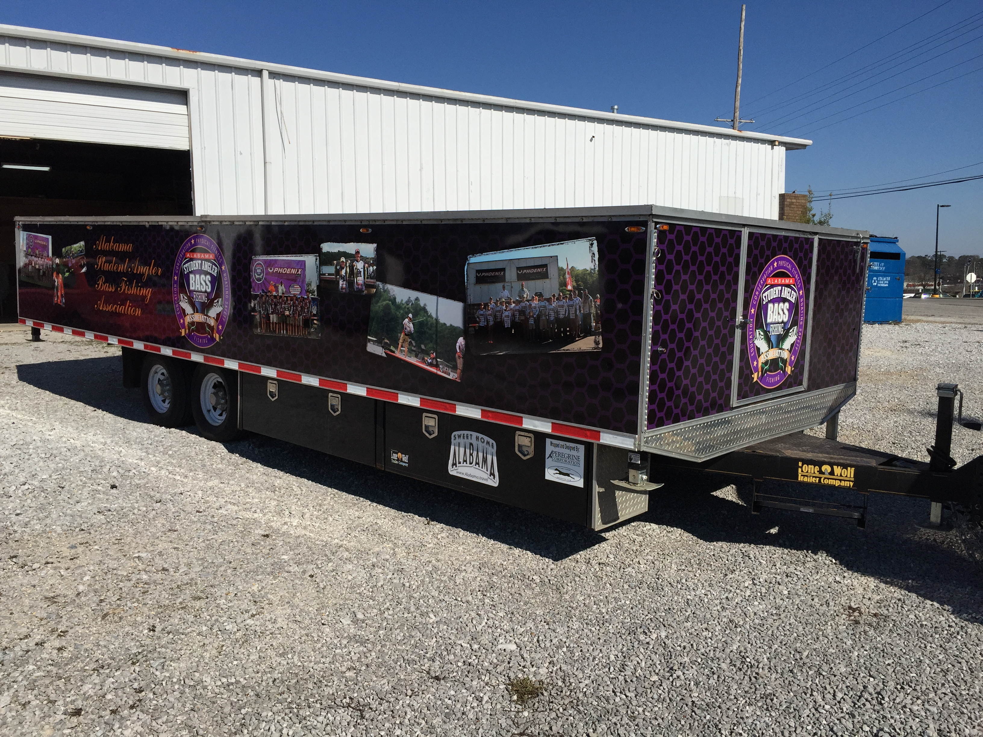 Semi Trailer Wrap