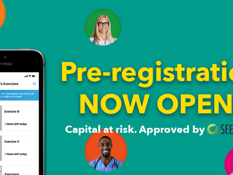 Pre-registration now open for our Seedrs campaign
