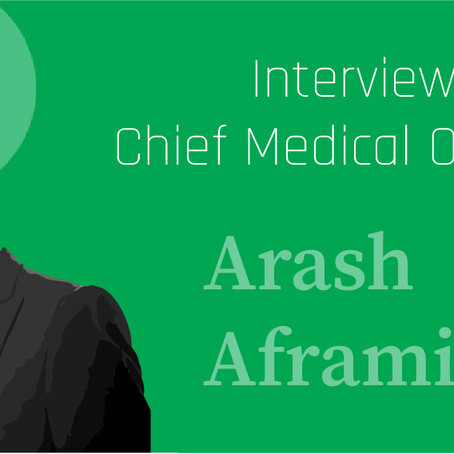An interview with On The Mend Chief Medical Officer, Dr. Arash Aframian