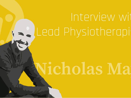 An interview with On The Mend Lead Physiotherapist, Nicholas May
