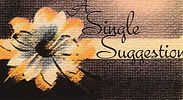 A Single Suggestion Logo - Erika Burnett