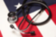 bigstock-Stethoscope-On-American-Flag-68