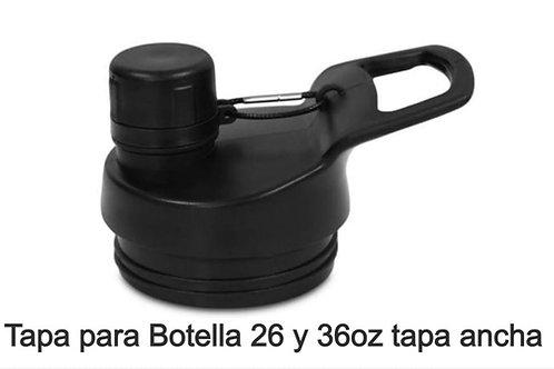 Tapa deportiva 26/36oz para botella tapa ancha. COD:318