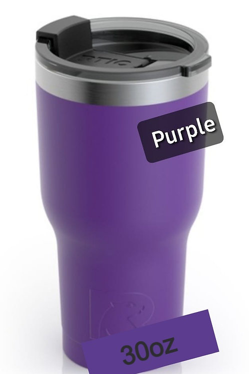 Tumbler Majestic Purple Matte 30oz COD:1566