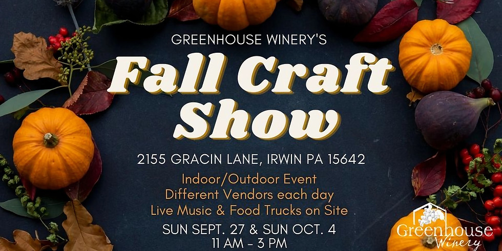 Fall Craft Show | Day 1