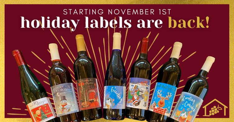Holiday Labels Return