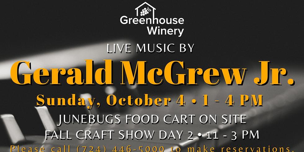 Live Music by Gerald McGrew Jr.