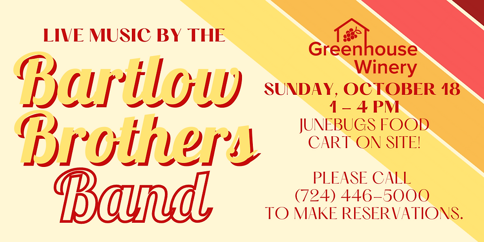 Music by the Bartlow Brothers Band