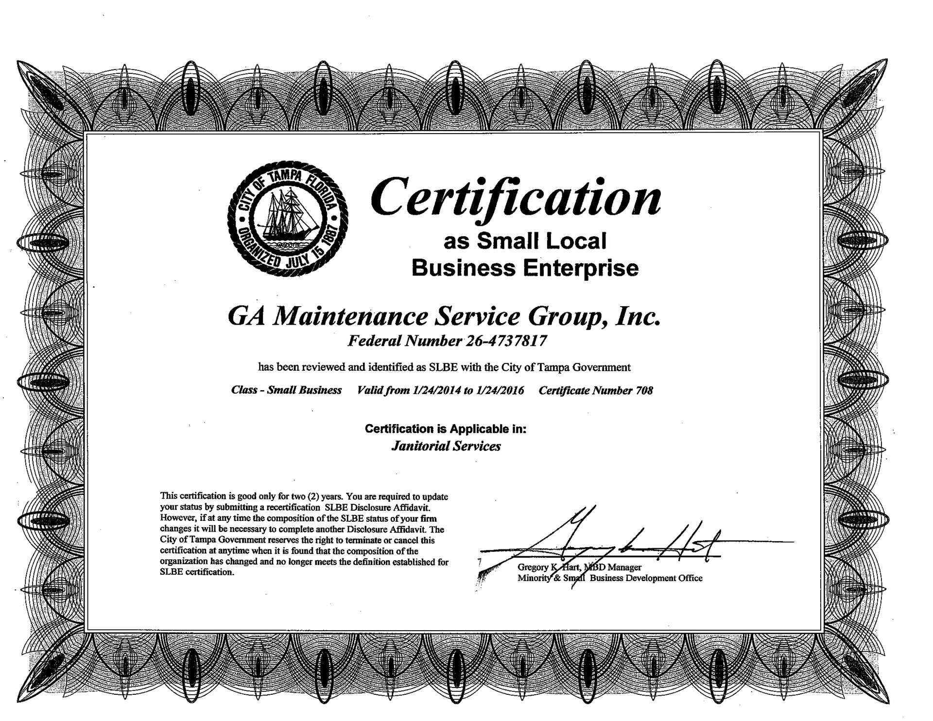 CITY OF TAMPA CERTIFICATION.jpg