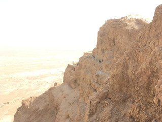 Day 7: Masada, Qumran & the Dead Sea