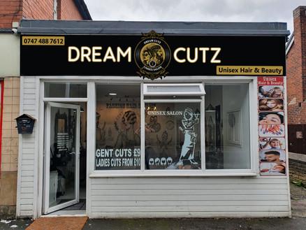 Dream Cutz Mockup
