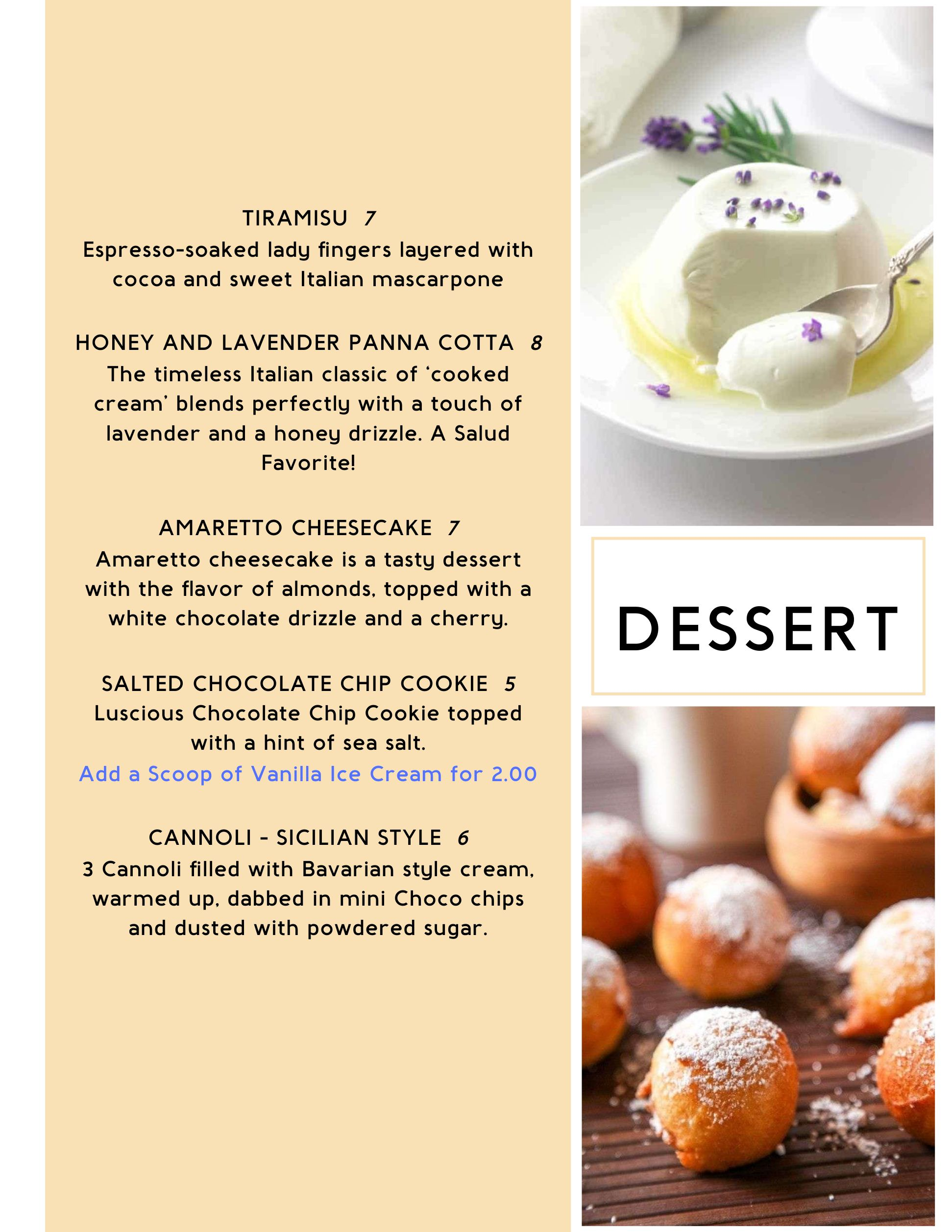 To Go Dessert
