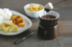 Chocolate Fondue, Food