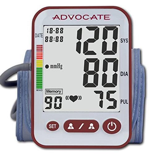 Blood Pressure Monitor-Upper Arm XL Cuff