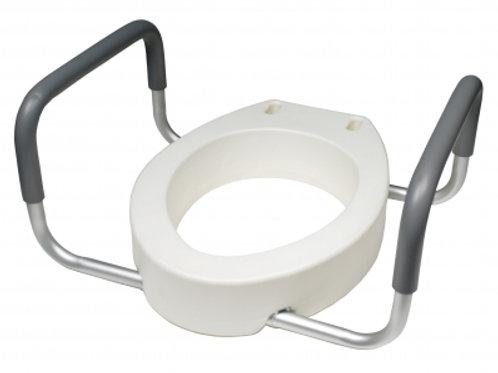 Lumex- Elong Toilet Seat Riser Retail- 6482ER2
