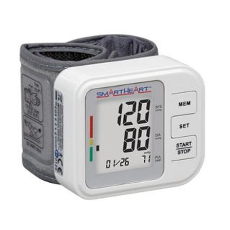 SmartHeart Automatic Blood Pressure Wrist Monitor