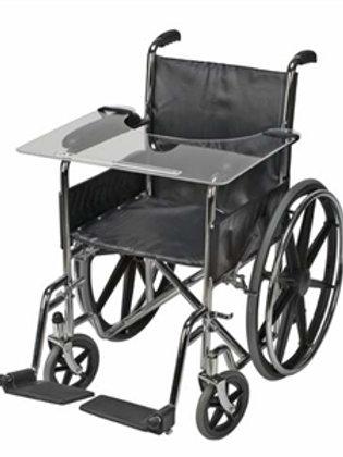 Clear Acrylic Wheelchair Tray - Rose Healthcare #2046
