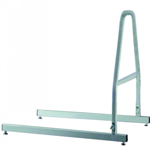 Lumex- Trapeze Floor Stand Only, Gray- 2840GA