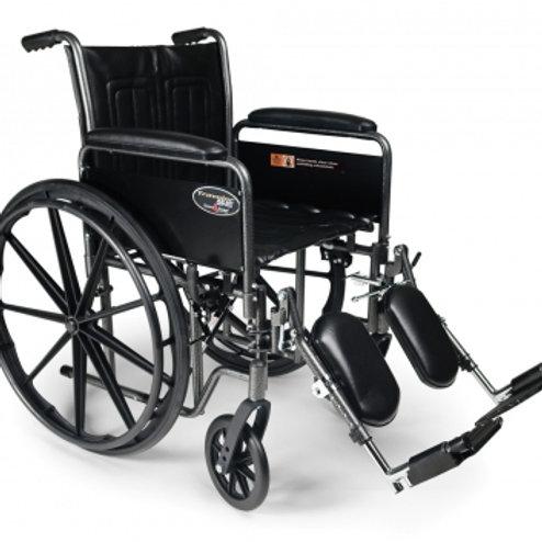 """Graham Field Traveler SE 18"""" Wheel Chair"""