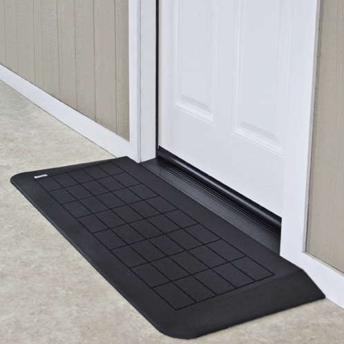 "PVI 1"" Rubber threshold"