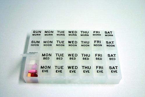 Large Weekly Medication Planner