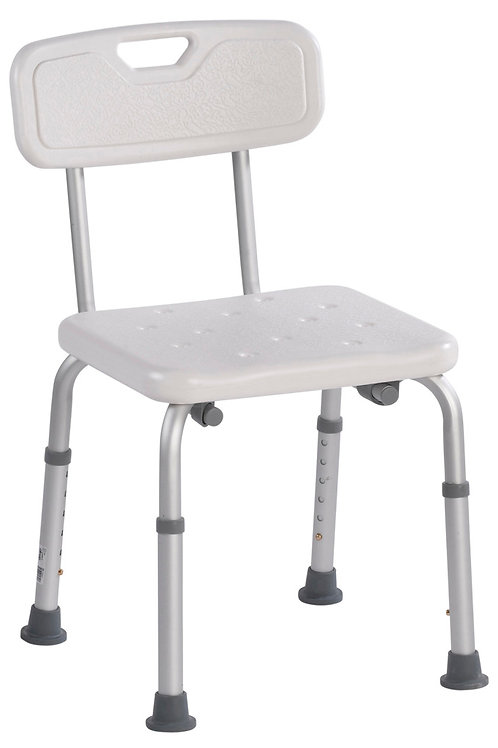 Heavy Duty Bath Bench with Back - Rose Health Care #12446-2
