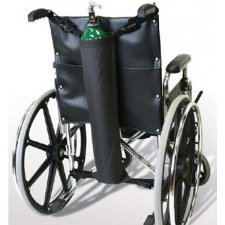 Oxygen Tank Holder for Wheelchairs - Rose Healthcare #2088