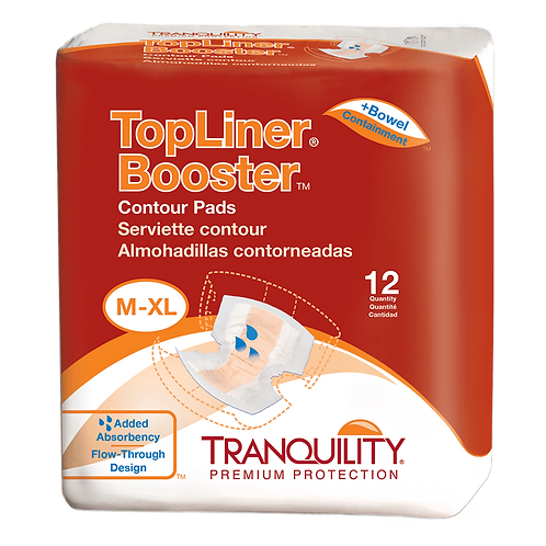 Tranquility Topliner Booster Contour Pad, M-XL - 3096