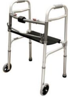 Deluxe Folding Walker - Rose Healthcare #1026