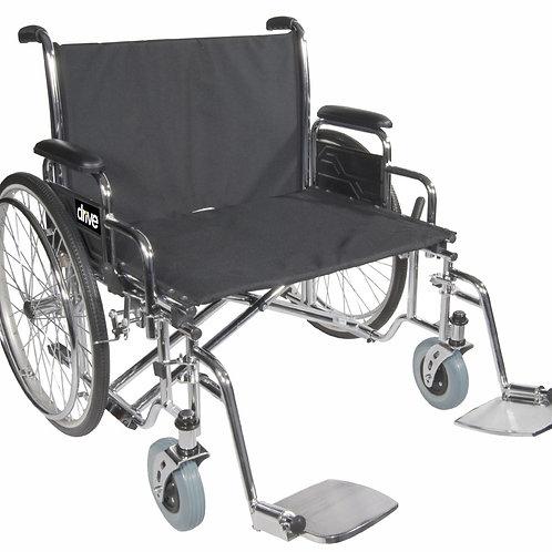 Bariatric Sentra EC Heavy-Duty, Extra-Extra-Wide Wheelchair