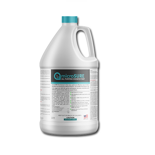MicroSure All Purpose Cleaner & Long-Term (30 Day) Disinfectant
