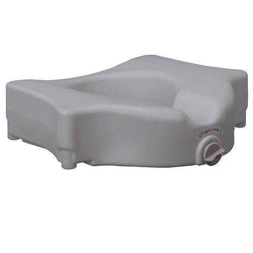 "Bariatric 5"" Locking Raised Toilet Seat - Rose Health Care #RTL22600"