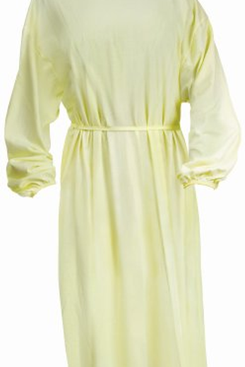Cotton/Polyester Blend Isolation Gown