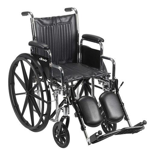Chrome Sport Wheelchair