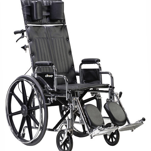 Deluxe Sentra Full Reclining Wheelchair