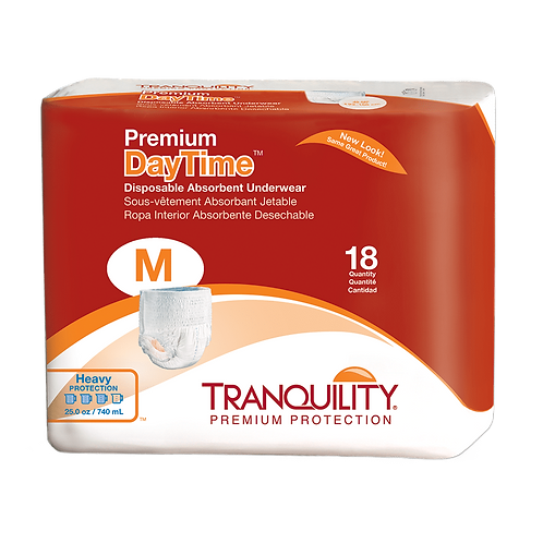 Tranquility Premium Daytime Disposable Absorbent Underwear, Medium - 2105