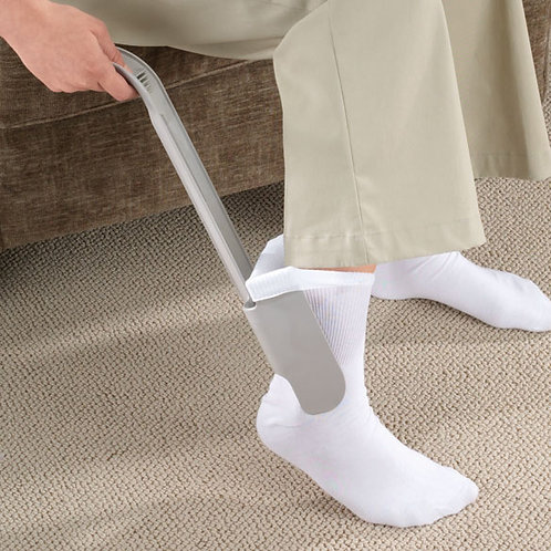 Sock Aid Easy On Shoe Horn