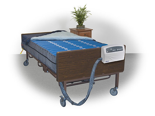 """Med-Aire Plus 10"""" Bariatric Alternating Pressure and Low Air Loss Mattress"""