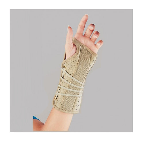 FLA Soft Fit Suede Finish Wrist Brace - Left
