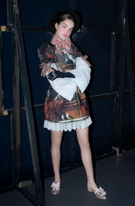Ana Ljubinkovic AW 18/19 with ABO shoesAna Ljubinkovic AW 18/19 with ABO shoes