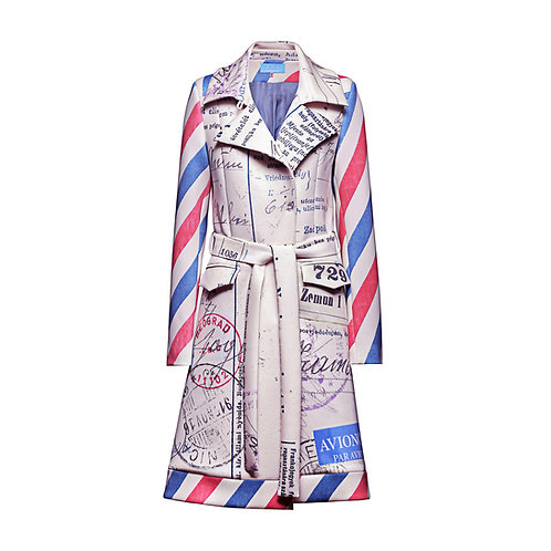 AIR MAIL Trench Coat