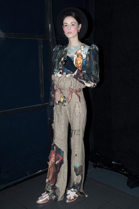 Ana Ljubinkovic AW 18/19 with ABO shoes