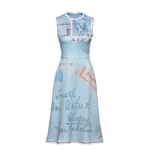 BLUE ENVELOPE Dress