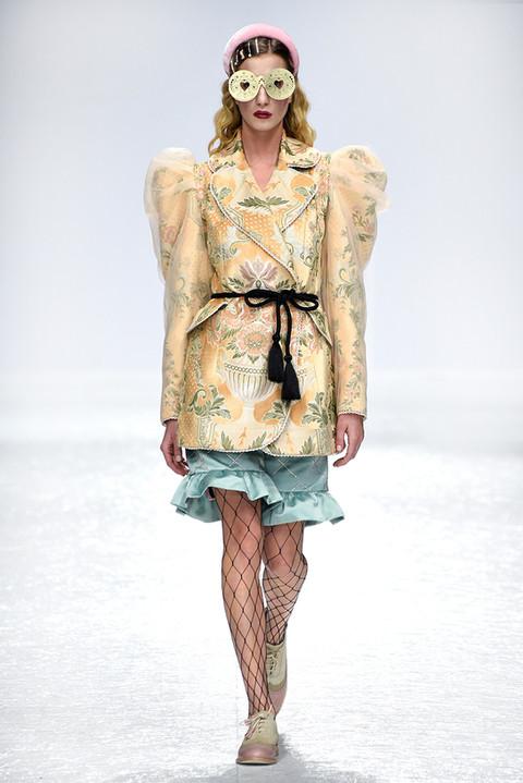 Model Mina Davidovac from Fox