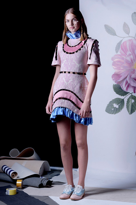 Ana Ljubinković SS 19 with ABO shoes, model Ivona from Scout