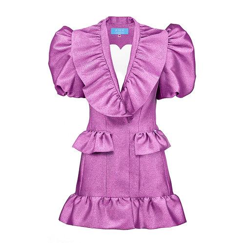 SWEETHEART Blazer Dress in Pink