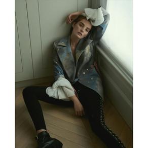 The Supermodel Alexina Graham Wears Ana Ljubinković for Numero Russia