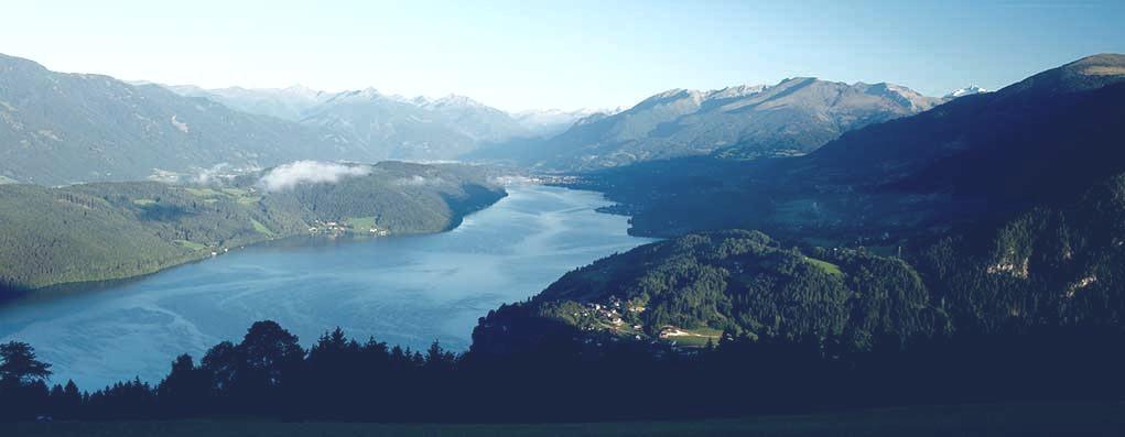 Millstätter See mit Wolfsberg